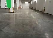 Pisos de concreto diamantado y mucho mas