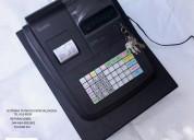 Cajas registradoras servicio programa
