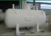 Fabricantes de tanques de acero inoxidable y acero al carbón