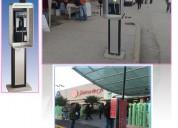 Pradotel publicity. publicidad en casetas telefonicas