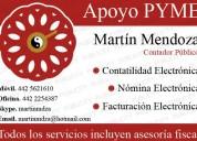 Contabilidad, nómina y facturación electrónicas pyme
