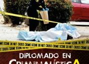 Criminalistica ven a conocer nuestro diplomado el mejor solo aqui en guadalajara jalisco