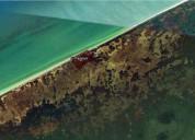 Excelente terreno en venta, frente al mar, ubicado en celestun, yucatan