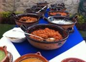 Comida buffet para todo tipo de evento social  7771751561
