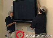 Instalacion de psoportes para pantallas de tv