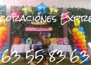 Decoraciónes con globos para fiestas infantiles