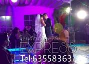 Decoraciónes con globos, telas para bodas xv años presentaciones
