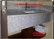 Cubiertas hermosas para baÑo en granito y marmol