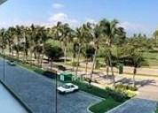 Cad península, depto. 141, amueblado 188.58 mts, 4 recámaras, cuarto en acapulco de juárez