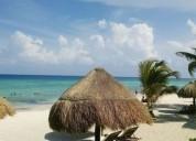 Playa del carmen casa de dos niveles con alberca privada en venta 3 dormitorios 280 m2
