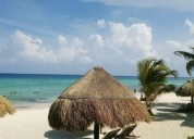 Venta en playa del carmen con alberca privada casa de dos niveles 3 dormitorios 280 m2