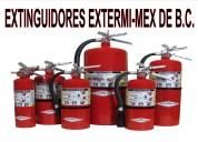 Extinguidores en tijuana extermimex venta, recargas, mantenimiento