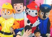 Show infantil de paw patrol en pachuca para tu fiesta
