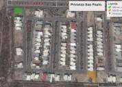 terrenos residenciales en privanza sao paulo, saltillo 368 m2