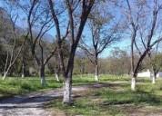 Venta fraccionamiento campestre en montemorelos, n.l 90000 m2