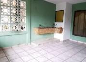 casa amueblada en renta, colonia rancho alegre, coatzacoalcos, ver 3 dormitorios 105 m2