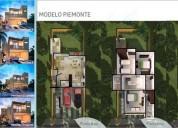 casa de 3 recamaras 3.5 baños, la joya playa del carmen 3 dormitorios 180 m2