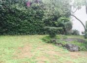 Espectacular terreno calle cerrada jardines del pedregal 980 m2