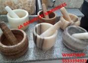 Morteros hermosos en onix y marmol