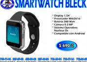 Smartwatch bleck acteck