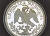Monedas de plata de 5 onzas, de los 500 aÑos de la fusion de dos culturas.