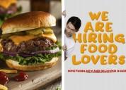 Te gusta la comida? tenemos trabajo para ti!
