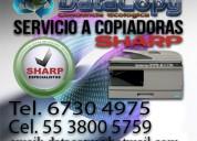 Reparacion copiadoras sharp