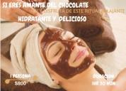 Tratamiento envolvente de chocolate