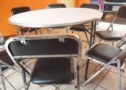 Excelentes precios en sillas plegables