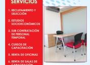 Servicios de recursos humanos