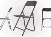 Venta de sillas plegables de lamina