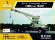 Refacciones para grÚas national crane
