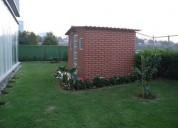 Divino garden house en sens amueblado 2 dormitorios 389 m2