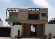 Magnifica residencia a estrenar en venta en bosques de las lomas 4 dormitorios 600 m2