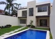 venta de casa sola en vista hermosa, cuernavaca, morelos...clave 1819 4 dormitorios 300 m2
