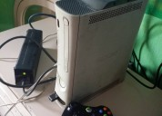 Xbox 360 blanco con chip y juegos instalados