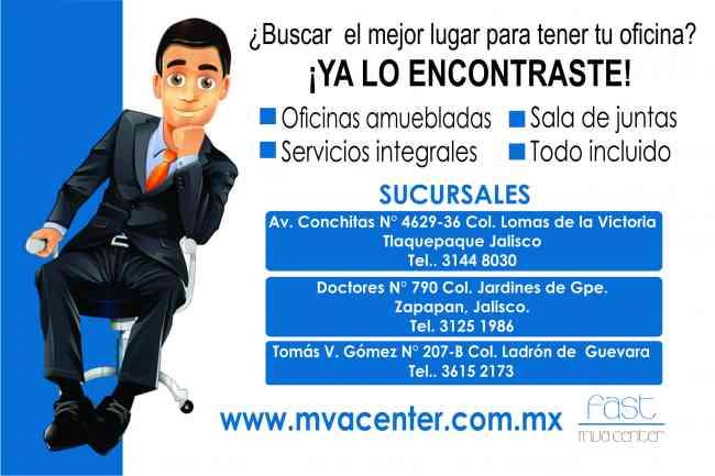 Domicilios Fiscales en Zapopan, Tlaquepaque y/o Guadalajara!