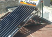 Calentador solaris y sky power en acero inoxidable