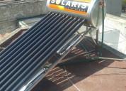 Calentador solaris y sky power en acero inoxidable