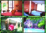 casa familiar de descanso vacacional en morelos para 8 personas