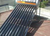 Calentador solar solaris en acero inoxidable