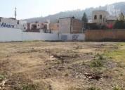 Terreno en renta en esquina sobre camelinas a $189 m2 en morelia