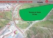 Terreno en venta frente uvm, chihuahua 200000 m2