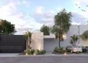 Casas nuevas en privada cholul 2 dormitorios 159 m2