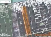 Oportunidad terreno en venta sobre carretera chicxulub - uaymitun 14250 m2