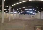 Nave industrial con oficinas al sur de la ciudad 2600 m2