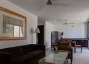 Magnifico departamento amueblado en renta estilo minimalista 2 dormitorios 90 m2