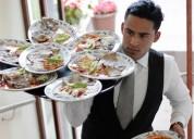 Servicio de meseros para banquetes