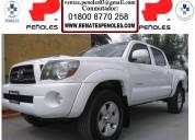 Peñoles vende toyota tacoma 2010 4p pickup trd sport 4x4 aut f antiniebla r-181