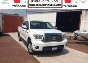 Peñoles vende toyota tundra 2010 4p ltd 5.7l aut v8 4x4 doble cab1